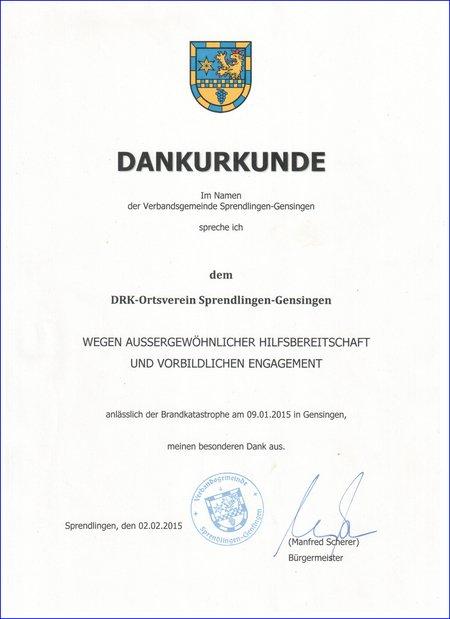 20150202 Dankurkunde VG