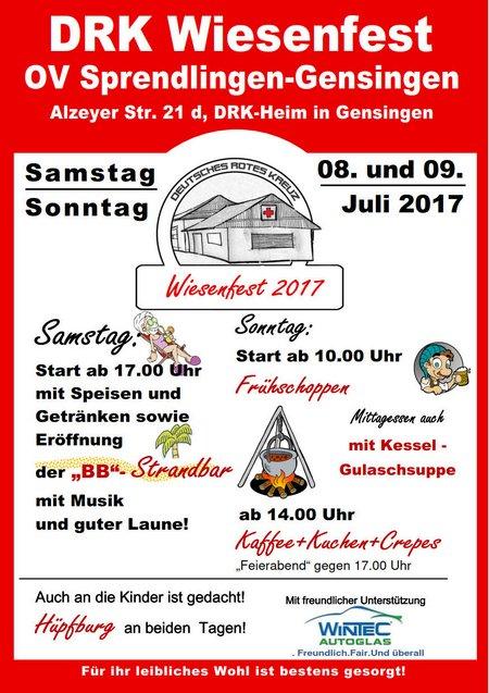 Wiesenfest Flyer 2017 Gulasch Martin