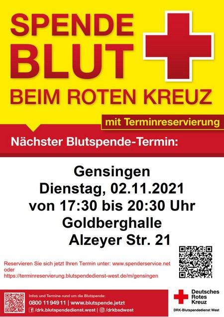 2021-11-02 Blutspende